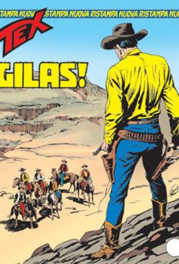 Copertina di Tex Nuova Ristampa n.107 – Gilas!