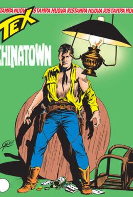 Copertina di Tex Nuova Ristampa n.110 – Chinatown
