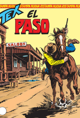 Copertina di Tex Nuova Ristampa n.117 – El Paso