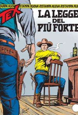 Copertina di Tex Nuova Ristampa n.118 – La legge del più forte