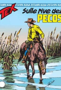 Copertina di Tex Nuova Ristampa n.120 – Sulle rive del Pecos