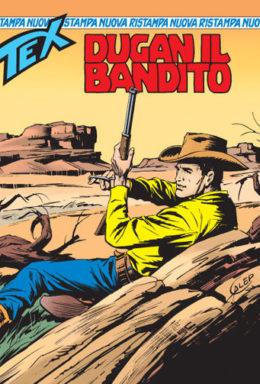 Copertina di Tex Nuova Ristampa n.121 – Dugan, il bandito
