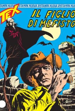 Copertina di Tex Nuova Ristampa n.125 – Il figlio di Mefisto