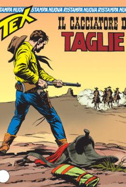 Copertina di Tex Nuova Ristampa n.130 – Il cacciatore di taglie