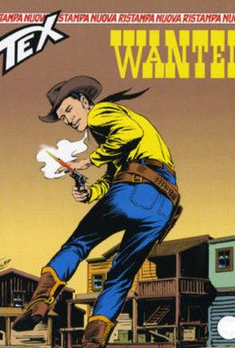 Copertina di Tex Nuova Ristampa n.131 – Wanted
