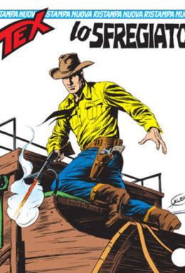 Copertina di Tex Nuova Ristampa n.132 – Lo sfregiato