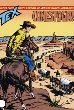Copertina di Tex Nuova Ristampa n.133 – Conestoga!