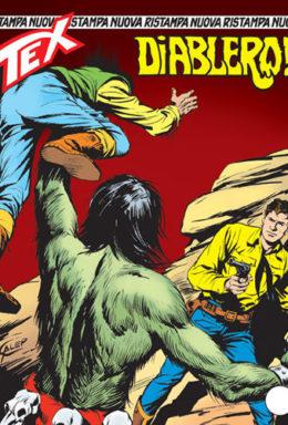 Copertina di Tex Nuova Ristampa n.135 – Diablero!
