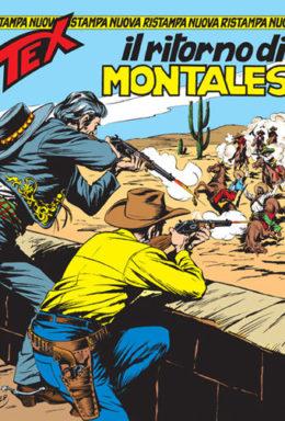 Copertina di Tex Nuova Ristampa n.137 – Il ritorno di Montales