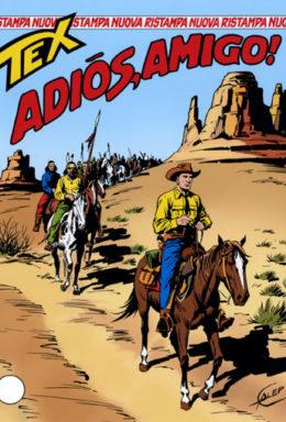 Copertina di Tex Nuova Ristampa n.139 – Adiós, amigo!