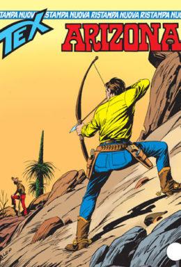 Copertina di Tex Nuova Ristampa n.140 – Arizona