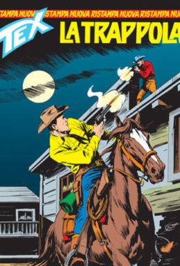 Copertina di Tex Nuova Ristampa n.141 – La trappola