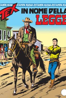 Copertina di Tex Nuova Ristampa n.142 – In nome della legge