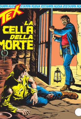 Copertina di Tex Nuova Ristampa n.143 – La cella della morte