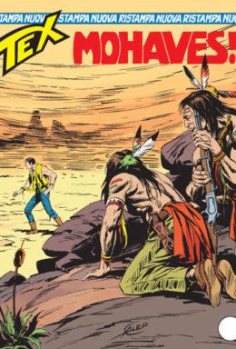 Copertina di Tex Nuova Ristampa n.144 – Mohaves!
