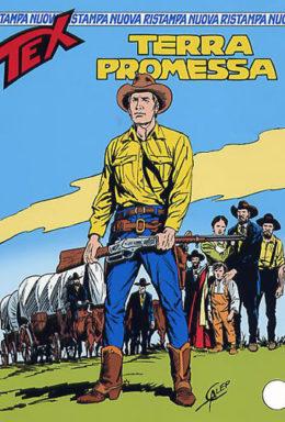 Copertina di Tex Nuova Ristampa n.146 – Terra promessa