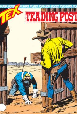 Copertina di Tex Nuova Ristampa n.149 – Trading Post