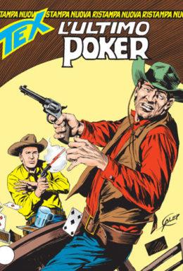 Copertina di Tex Nuova Ristampa n.151 – L'ultimo poker