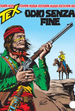 Copertina di Tex Nuova Ristampa n.152 – Odio senza fine