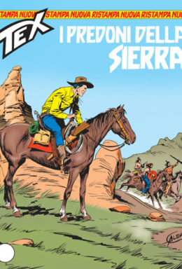 Copertina di Tex Nuova Ristampa n.153 – I predoni della sierra
