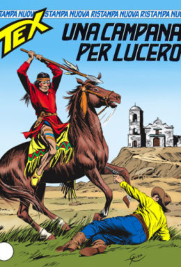 Copertina di Tex Nuova Ristampa n.154 – Una campana per Lucero