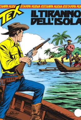 Copertina di Tex Nuova Ristampa n.157 – Il tiranno dell'isola