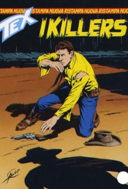 Copertina di Tex Nuova Ristampa n.160 – I killers