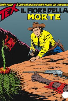 Copertina di Tex Nuova Ristampa n.161 – Il fiore della morte