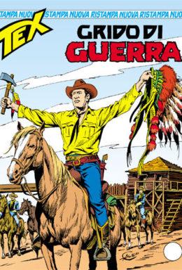 Copertina di Tex Nuova Ristampa n.288 – Grido di guerra