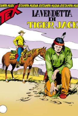 Copertina di Tex Nuova Ristampa n.289 – La vendetta di Tiger Jack