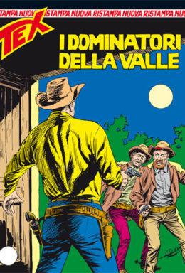 Copertina di Tex Nuova Ristampa n.290 – I dominatori della valle