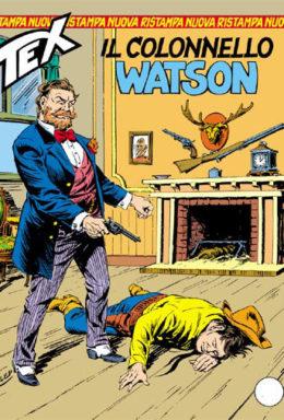Copertina di Tex Nuova Ristampa n.291 – Il colonnello Watson