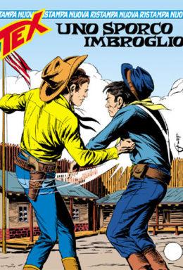 Copertina di Tex Nuova Ristampa n.292 – Uno sporco imbroglio
