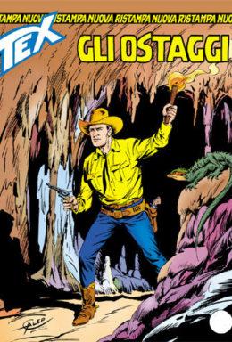 Copertina di Tex Nuova Ristampa n.293 – Gli ostaggi