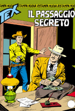 Copertina di Tex Nuova Ristampa n.295 – Il passaggio segreto
