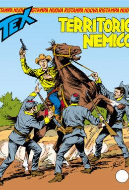 Copertina di Tex Nuova Ristampa n.298 – Territorio nemico