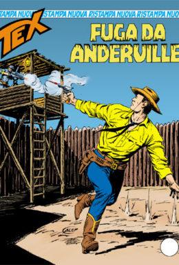 Copertina di Tex Nuova Ristampa n.299 – Fuga da Anderville