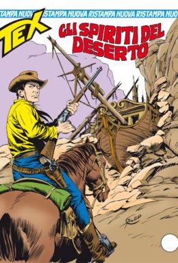Copertina di Tex Nuova Ristampa n.329 – Gli spiriti del deserto