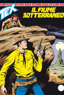 Copertina di Tex Nuova Ristampa n.330 – Il fiume sotterraneo