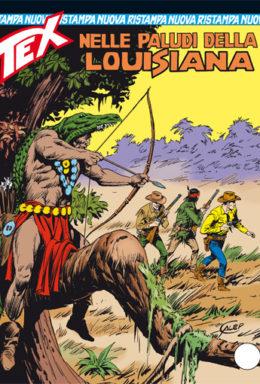 Copertina di Tex Nuova Ristampa n.331 – Nelle paludi della Lousiana