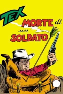 Copertina di Tex n.89 – Morte di un soldato