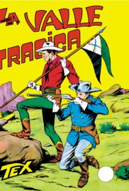 Copertina di Tex n.33 – La valle tragica