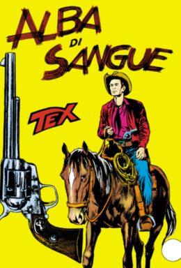 Copertina di Tex n.21 – Alba di Sangue