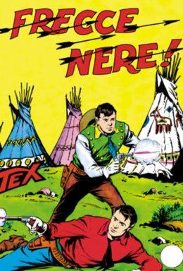 Copertina di Tex n.26 – Frecce Nere
