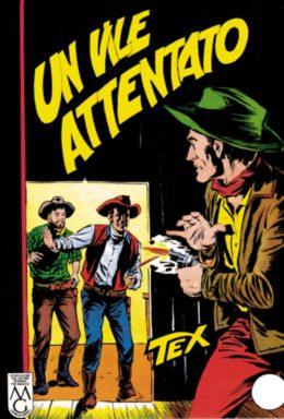 Copertina di Tex n.28 – Un vile attentato