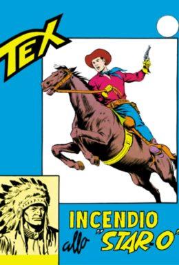 Copertina di Tex n.42 – Incendio allo Star-O