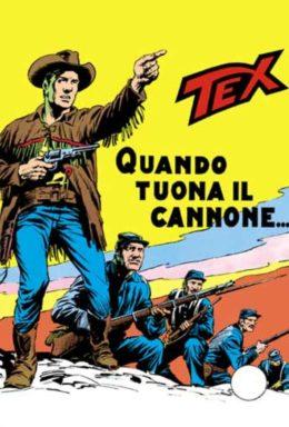 Copertina di Tex n.114 – Quando Tuona Il Cannone…