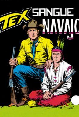 Copertina di Tex n.51 – Sangue Navajo