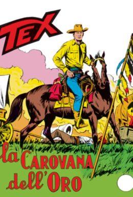 Copertina di Tex n.95 – La carona delloro