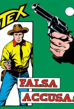 Copertina di Tex n.37 – Falsa Accusa